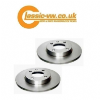 Front Brake Disc Set 239x10mm Bosch 811615301 1.1 - 1.3, Diesel Mk1 / 2 Golf + Rallye Rear,  Jetta